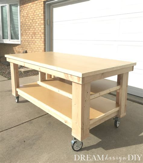 build  ultimate diy garage workbench  plans