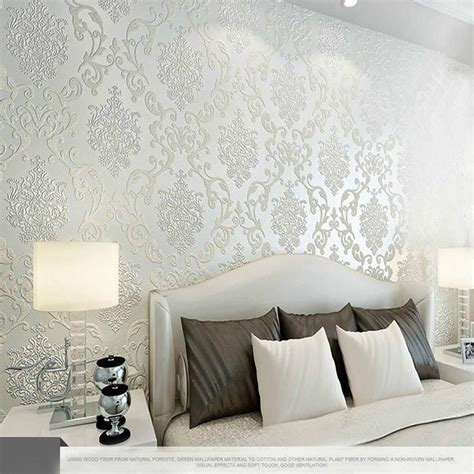 colors luxury embossed textured wallpaper