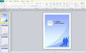yearbook template for microsoft publisher powerpoint With yearbook powerpoint template
