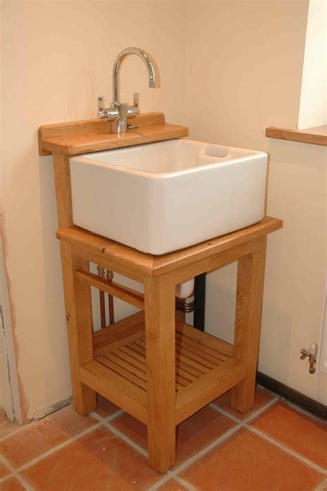Washstand For Small Belfast Sink Kitchen Plotting