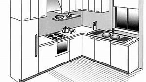 page 2 tous les articles petits espaces cotemaisonfr With idee de plan de maison 8 couleur cuisine photo de vues 3d de la cuisine la
