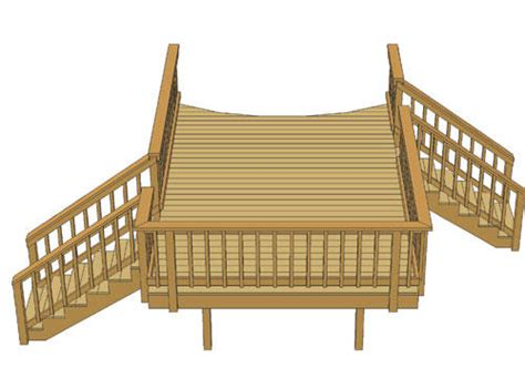 menards pool deck plans 10 x 16 pool deck w two stairs at menards 174
