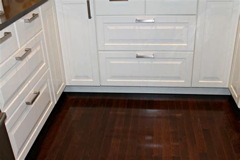 installing toe kick on kitchen cabinets the simple things installing ikea toe kicks on kitchen 9000