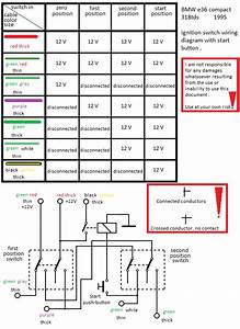Bmw E36 Compact 318tds 1995 Ignition Switch Wiring Diagram