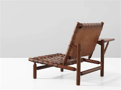 chaise tapiovaara ilmari tapiovaara leather lounge chair and