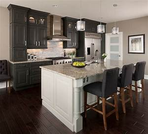 ksi designer jim mcveigh transitional kitchen With kitchen cabinet trends 2018 combined with framed wall art for living room