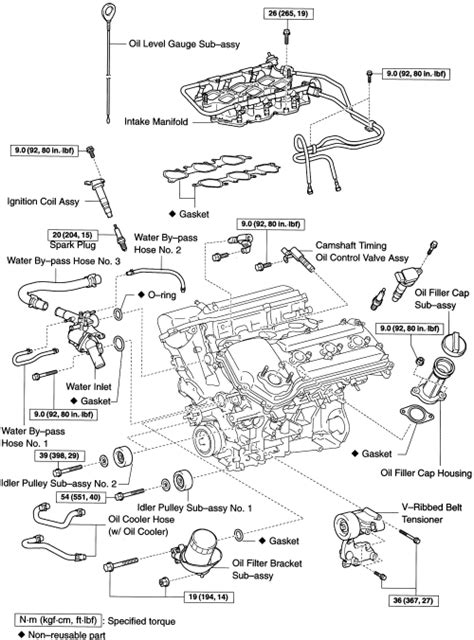 Toyotum 2 4 Engine Intake Manifold Diagram by Repair Guides