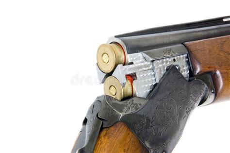 double barrel shotgun cal  royalty  stock images