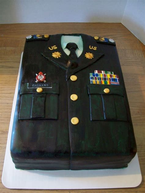 Have you ever seen large, decorative alphabet letters used as accents on bookcases, shelves or desks? Class A Cake -- would be SUPER cool for a re-enlistment or ...