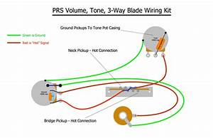 Paul Reed Smith Prs Upgrade Wiring Kit