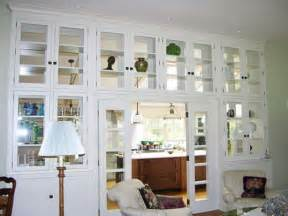 White living room cabinets with glass doors home interiors for Glass door cabinets living room