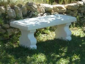 banc blanc de jardin en reconstitu 233 e luckyfind