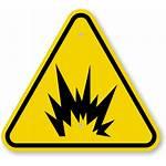 Warning Symbol Iso Sign Explosion Flash Arc