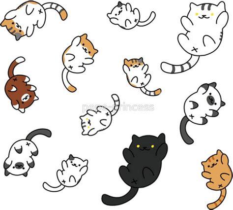 neko atsume kitty collector sticker  olivia stranger kitty drawing cute doodles neko