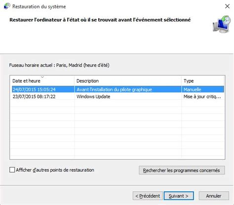 windows 10 restauration syst 232 me m 233 diaforma