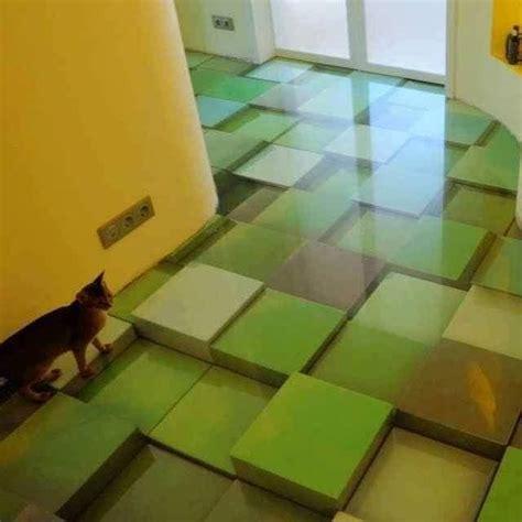 dessin cuisine 3d revêtement de sol décoratif en 3d