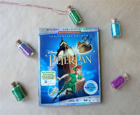 minute crafts peter pan inspired pixie dust necklaces