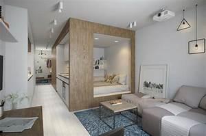 Amenager un studio interieurs design de moins de 30m2 for Amenager un studio