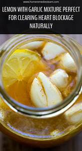 Lemon With Garlic Mixture Perfect For Clearing Heart