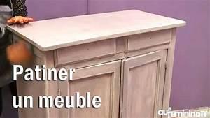 Comment Peindre Une Porte Sans Faire De Trace : patiner un meuble tutoriel vid o comment patiner un ~ Premium-room.com Idées de Décoration