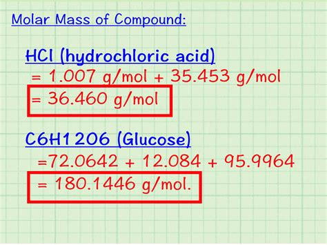 How To Calculate Molar Mass 7 Steps (with Pictures) Wikihow