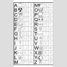 Alphabet Tracing Printables For Kids  Baby  Preschool Worksheets, Letter Tracing Worksheets