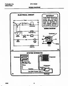 Wiring Diagram Diagram  U0026 Parts List For Model Mfu12m2bw3 Universal