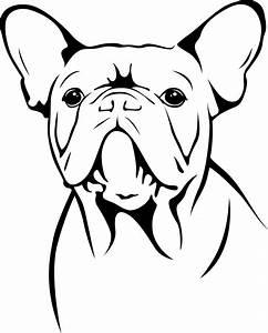French Bulldog Outline