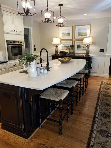 simple kitchen islands how a simple kitchen island countertop change can totally