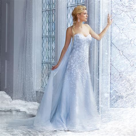 Ice Queen Style 25 Stunning Wedding Dresses For Winter