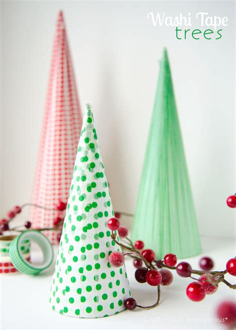 craftaholics anonymous 174 washi tape christmas trees
