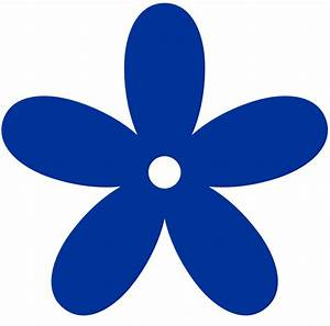 Royal Blue Flower Clipart - Clipart Suggest