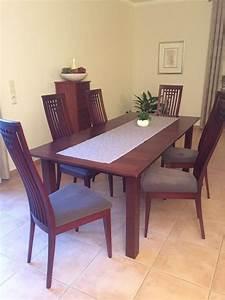 Esstisch Mit 8 Stühlen : mahagoni esstisch gebraucht kaufen nur 3 st bis 70 g nstiger ~ Markanthonyermac.com Haus und Dekorationen