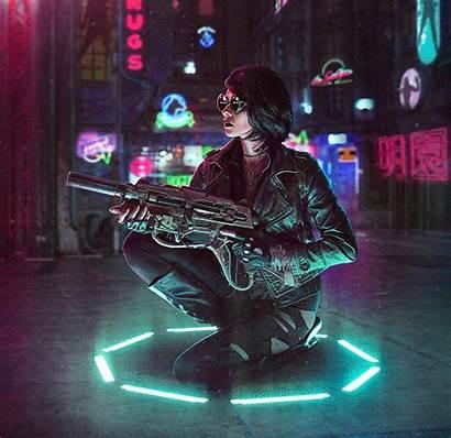 Cyberpunk Creating Tips Five Artwork Diy Pop