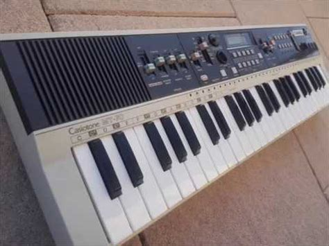 casio casiotone mt  vintage mini keyboard  analog