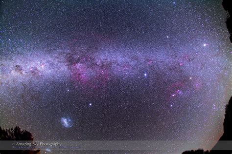 The Milky Way From Down Under The Amazing Sky