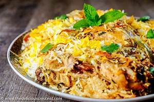 Easy Hyderabadi Chicken Biryani | The Delicious Crescent