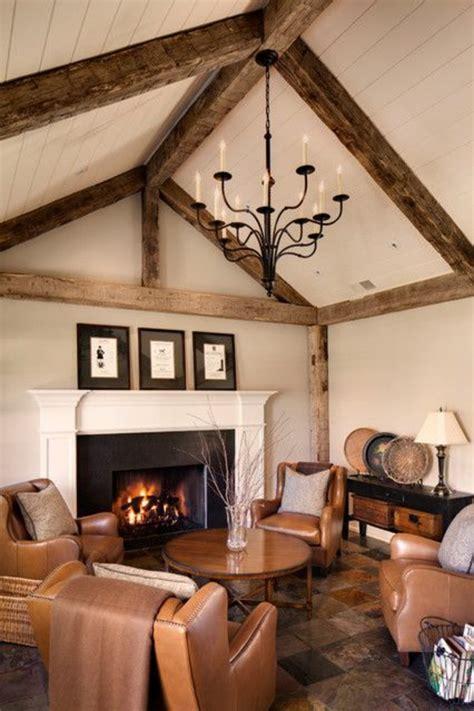 Holzbalken Für Decke by 40 Stilvolle Ideen F 252 R Einrichtung In Ihrer Wohnung
