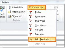 Remove or Set Reminders in Outlook 2013 – A Complete