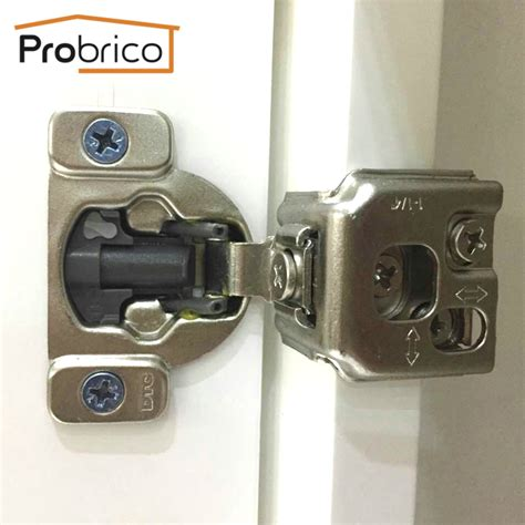 probrico kitchen cabinet hinges 1 pair chm36h1 1 4 concealed cupboard door hinge 1 4 overlay