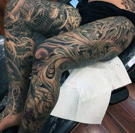 japanese tattoos  men masculine motifs