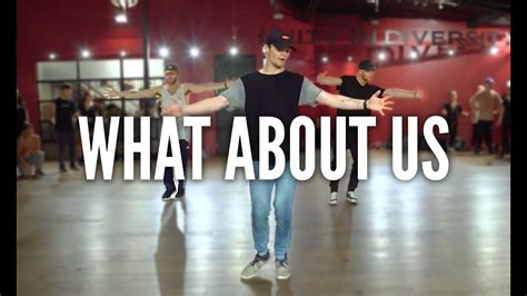 PINK - What About Us | Kyle Hanagami Choreography - YouTube