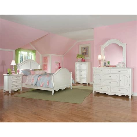 Adrian White 6piece Twin Bedroom Set