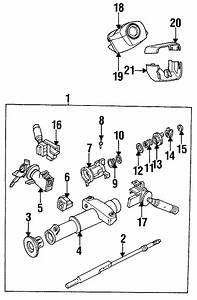 Buick Skylark Column Shaft  Included With  Steering Column