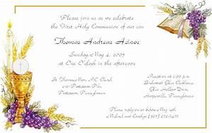 First Holy Communion Invitations - plumegiant Com