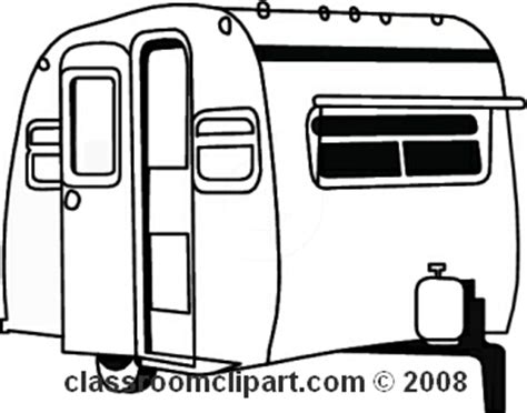motorhome clipart black and white cer black and white clipart