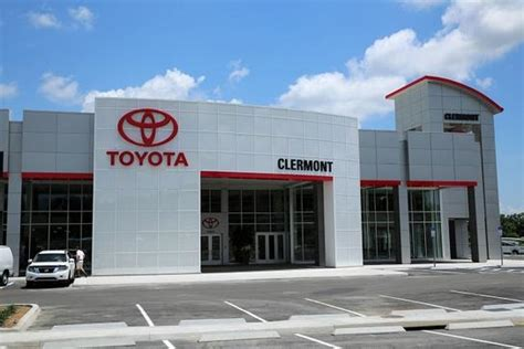local toyota dealers toyota of clermont clermont fl 34711 car dealership
