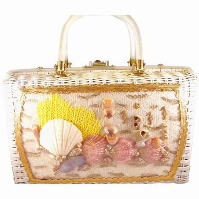 Lucite Handles Princess Wicker Handbags Handbag Atlas