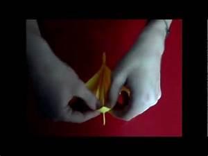 Origami Fleur Coeur D étoile : origami fleur d 39 orchid e youtube ~ Melissatoandfro.com Idées de Décoration