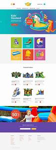 magento homepage template - entertainment type magento themes template 62247